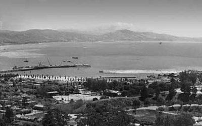 Pano Santa Barbara, CA. 1960's- PA-01
