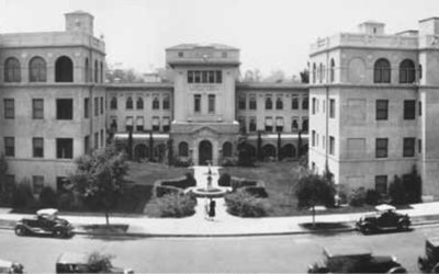 Santa Barbara Cottage Hospital circa 1930's -PA03