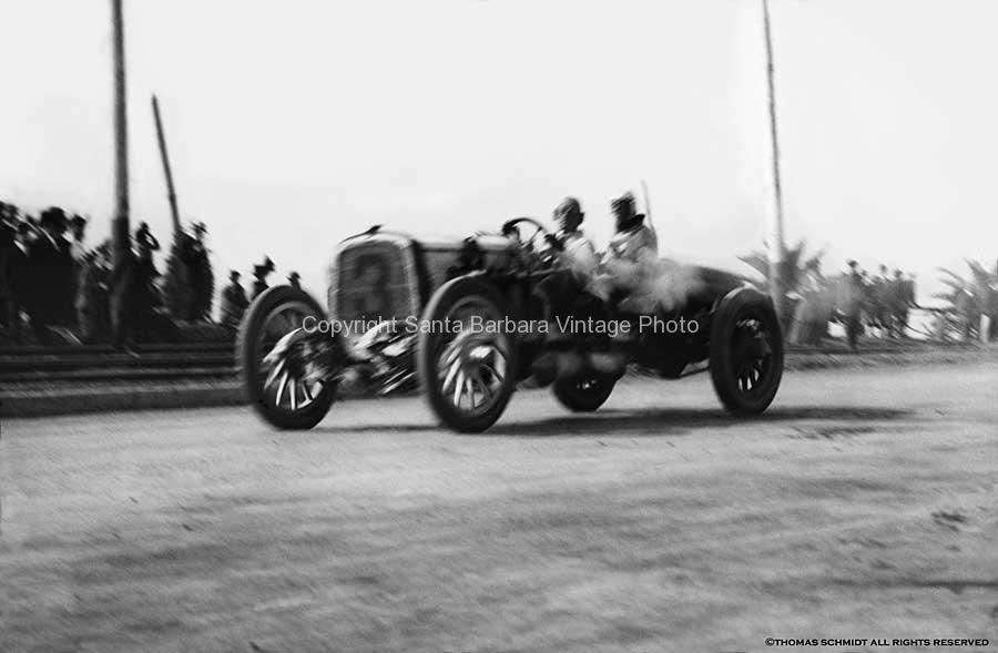 Cars,Vintage Automobile Photography 20th Century Santa Barbara Racing