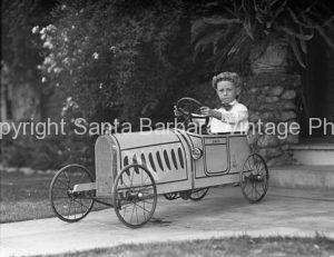 J W Collinge Child Santa Barbara Ca.  CA-16
