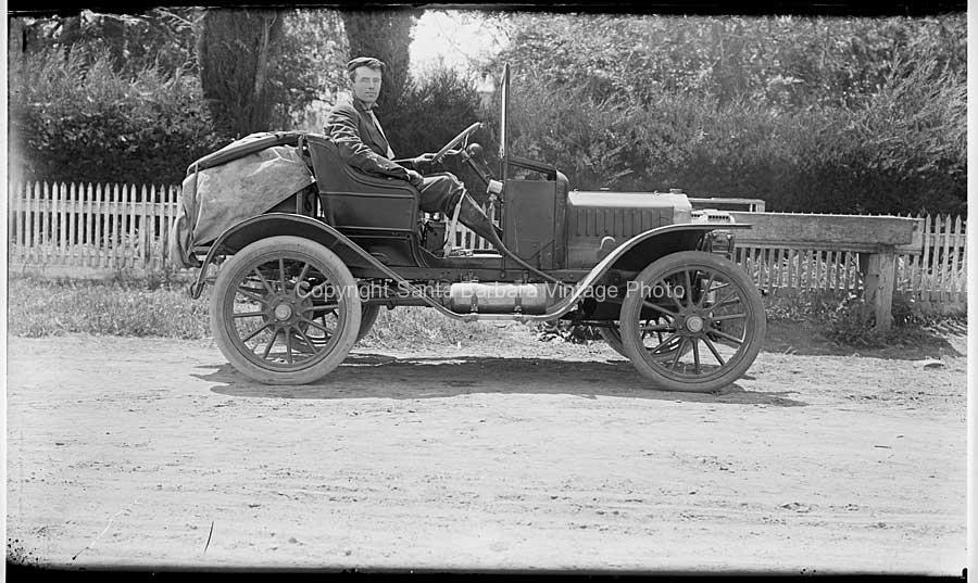 Ford circa 1918 Santa Barbara, CA - TR17