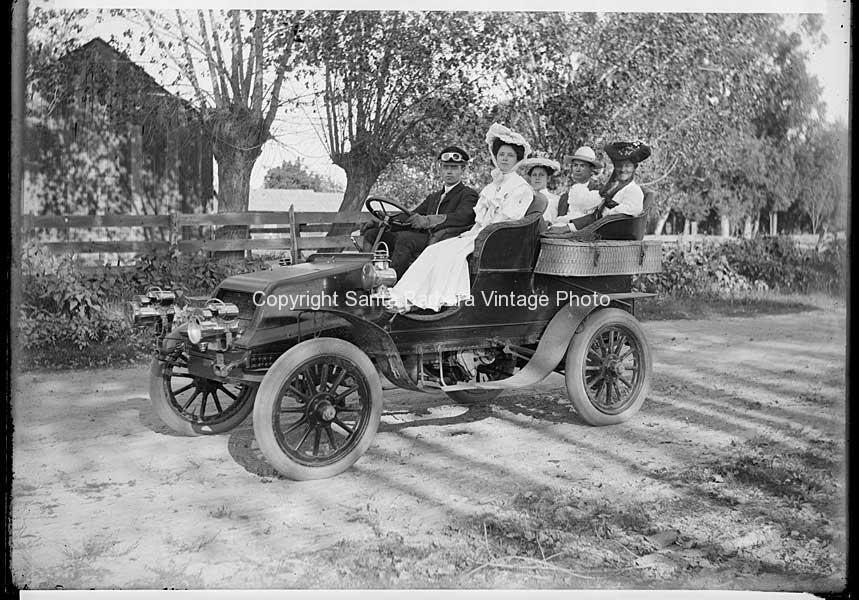 Afternoon Ride C.1920 Santa Barbara CA- 14