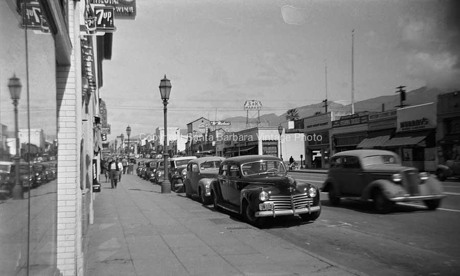 Lower State Santa Barbara 1940's CA-04