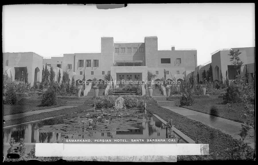 Samarkan Hotel, Santa Barbara CA - AS03