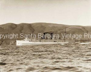 California Steamer off the  Santa Barbara CA. Coast- BS08