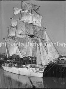 Brig ship, San Pedro, CA. - BS16