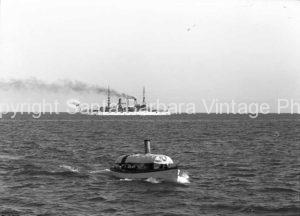white fleet of Santa Barbaram , CA. 1908 - BS20