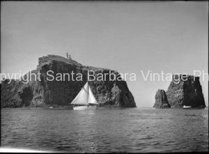 Rounding Anacapa Island,- CH05