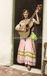 Maria De La Musica, 1930's, Santa Barbara, CA. - FS06