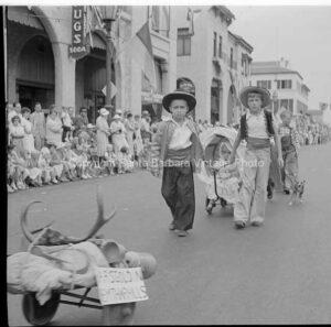 Santa Barbara Fiesta Parade, 1930's FS44