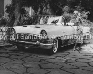 1956 Packard Caribbean, Santa Barbara, CA.  CA -42