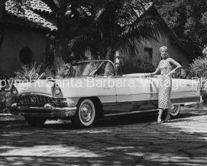 1956 Packard Caribbean, Santa Barbara, CA.  CA -43