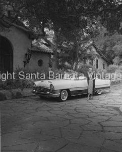 1956 Packard Caribbean, Santa Barbara, CA.  CA - 45