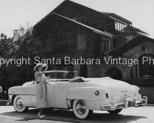 1953 chrysler convertiable, Santa Barbara, CA.  CA -52
