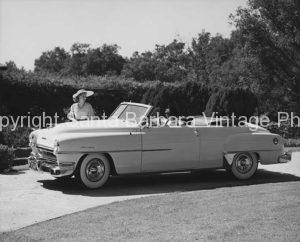 1953 chrysler convertiable, Santa Barbara, CA.  CA -53