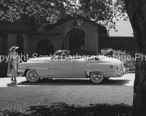 1953 chrysler convertiable, Santa Barbara, CA.  CA -55