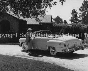 1953 chrysler convertiable, Santa Barbara, CA.  CA -56