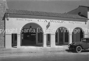 C A Wolf Body Builder Santa Barbara CA.  CA-66