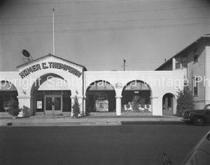 Homer C. Thompson, Ford Dealer, Santa Barbara CA - GS49