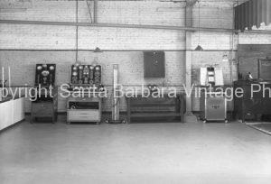 Vintage Garage Interior, Santa Barbara, CA - GS50