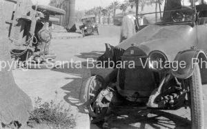 1920's Buick Accident, Santa Barbara, CA. CA-78
