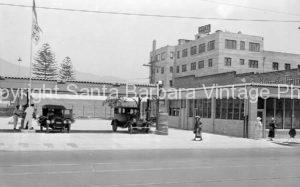 Gas Station, Haley and Anacapa, Santa Barbara CA. CA-82