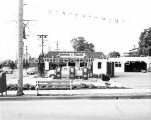 Rohrs & Vogel Vintage Gas Station, Santa Barbara, CA - GS66