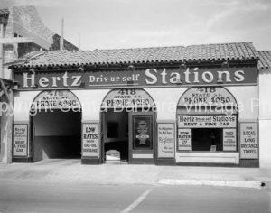 Hertz Station 418 State St.  Santa Barbara CA - GS68