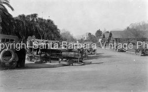 Vintage Car Accident, Santa Barbara, CA - GS69