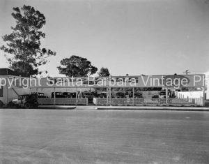 Vintage Used Car Lot, Santa Barbara, CA - GS72