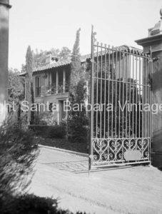 Gated Entrance, Montecito, CA. - MT35