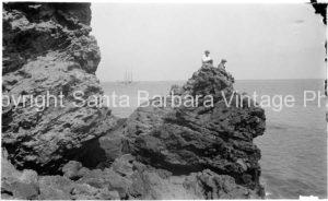 Castle Rock Santa Barbara CA. - SB29