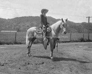 Cowboy, Santa Barbara, CA.- WE04