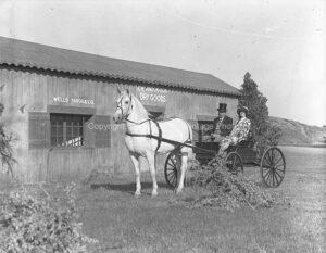 Horse and Carriage Santa Barbara Western Photo - WE06