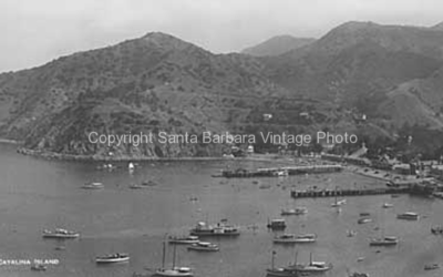 Santa Catalina CA. View of the Bay, CA-09