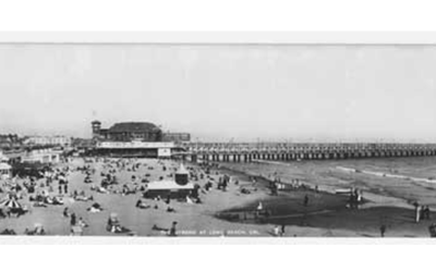 Long Beach CA. C.1930 CA-15