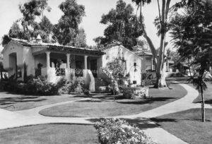 El Encanto Hotel, Vintage Photo, Santa Barbara, CA EE02