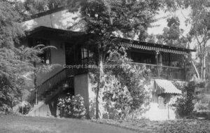 El Encanto Hotel, Vintage Photo, Santa Barbara, CA EE06