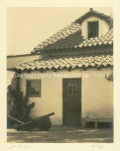 Back of Meridian Studios, El Paseo Santa Barbara, CA - EP09