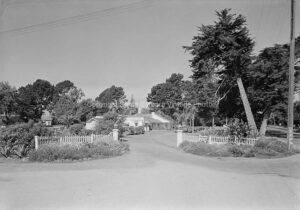 Miramar Hotel Entrance Montecito, CA Circa 1930 - MR67