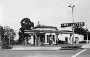 Associated Gas Station on the Mesa, 936 Rancheria, Santa Barbara, CA 1938