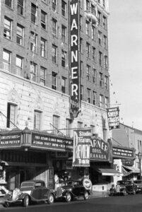 Granada Theater, Santa Barbara CA 1935 - #2