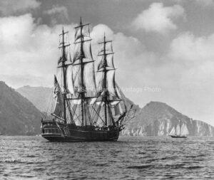 Brig Sailing Ship, San Pedro, CA. BS26