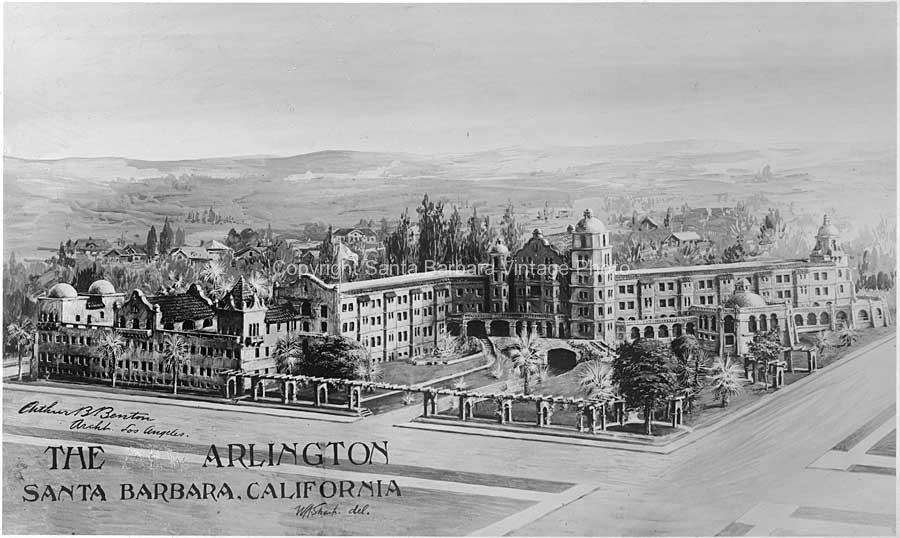 The Arlington Hotel, Santa Barbara, CA | AS08