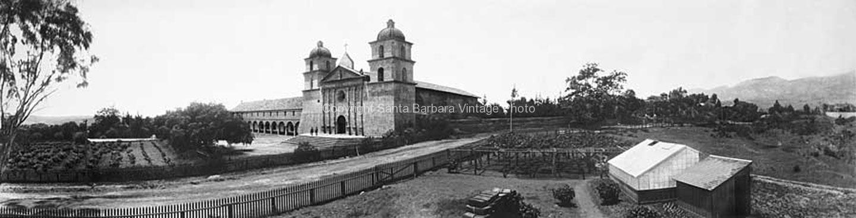 Santa Barbara Mission c.1901 - PB08
