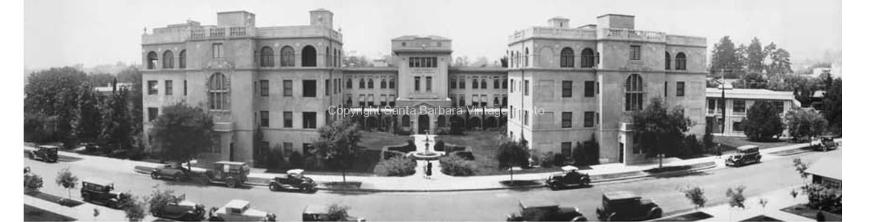 Santa Barbara Cottage Hospital circa 1930's -PA03