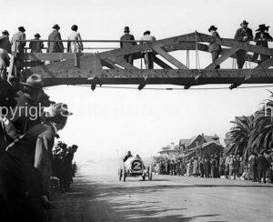 Vintage Car Racing, Bert Dingley Santa Monica 1911 CA- TR01