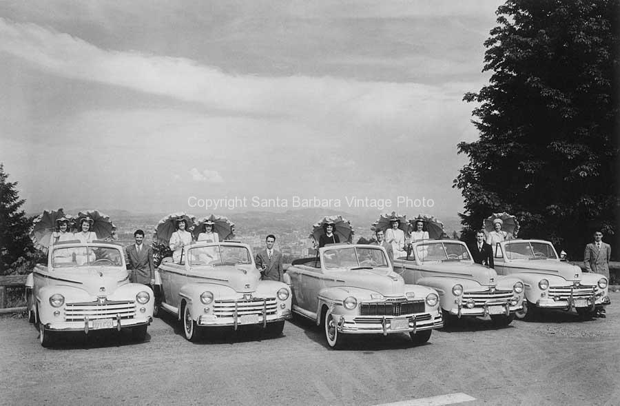 1940's Fords, Santa Barbara- TR84