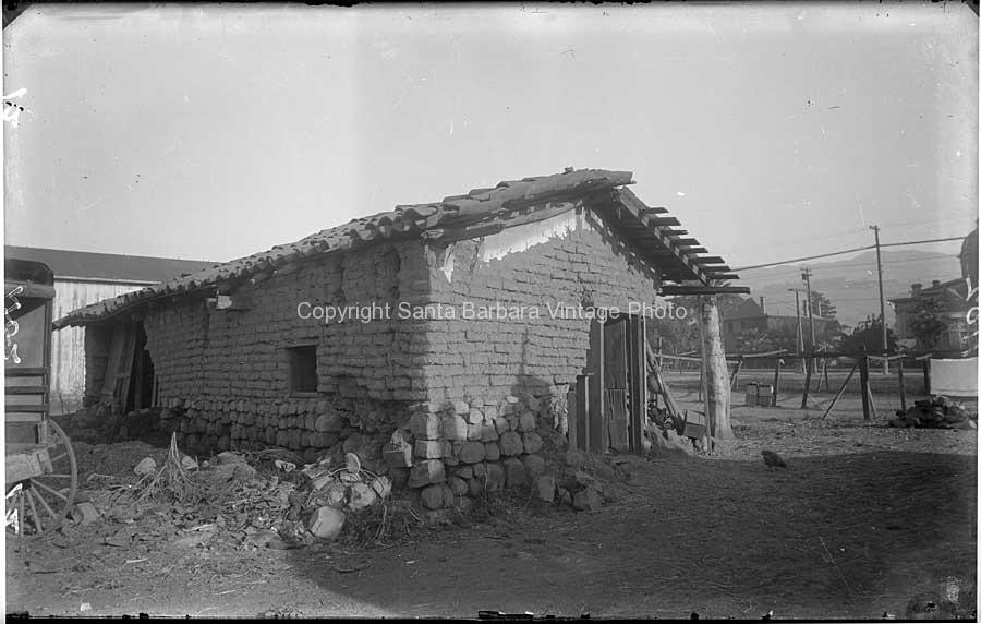 Cook-House Behind James Burke Adobe  | AD01