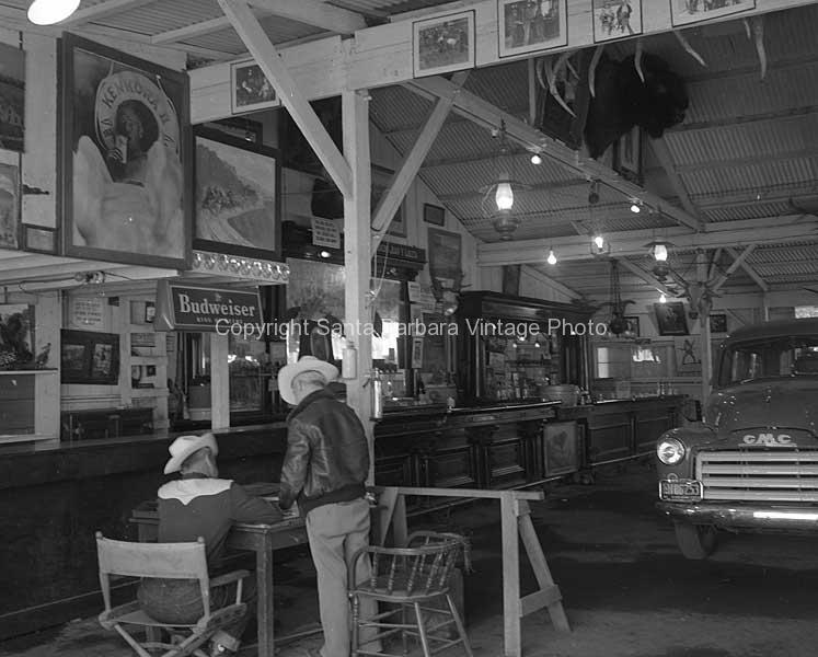 Jaun Y Lolita Ranch - Main Bar c1950 - RV54